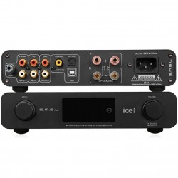 SMSL A6 Class D ICEPower amplifier 32bit 384khz Phono input 2x50W 8Ohm
