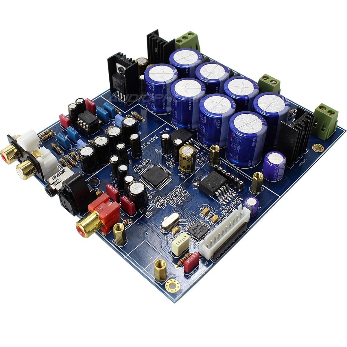 DAC Module AKM AK4495SEQ + AK4118 32bit / 384kHz