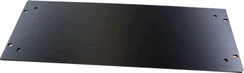 HIFI 2000 Aluminum front 4mm Black for 5U case