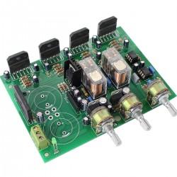 LM3886 Amplificateur 2.1 2x50W Stéréo 8 Ohm Ampli Subwoofer 1x100W 8Ohm