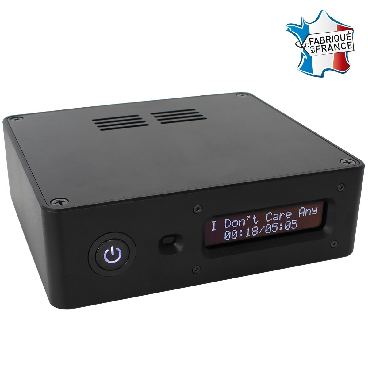 AUDIOPHONICS RASPDAC I-SABRE V4 Streamer Raspberry Pi & DAC TCXO