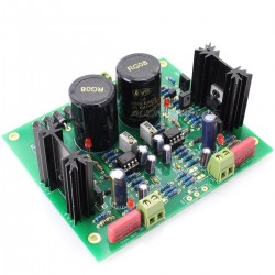 Linear Dual Power Supply board MJE15034G Low Noise 5V à 24V 2A