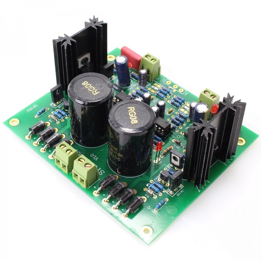 Linear Dual Power Supply Board Mje15034g Low Noise 5v 24v 2a Supplies Discrete Semiconductor Devices And Circuits 28v