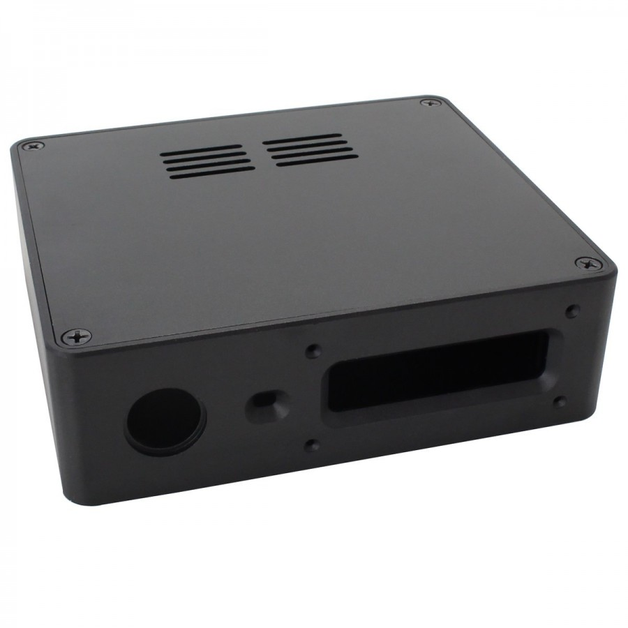Pi Squared for Raspberry Pi3 Rose Black Standard Height Pi2 and B
