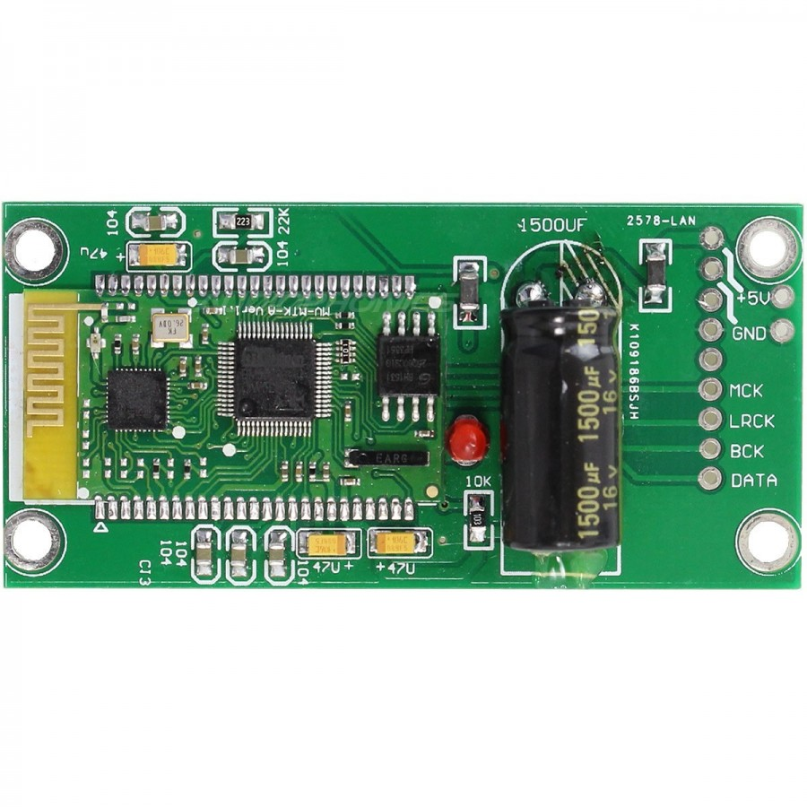 Bluetooth Module Board To I2s For Dac Audiophonics Circuit Wl