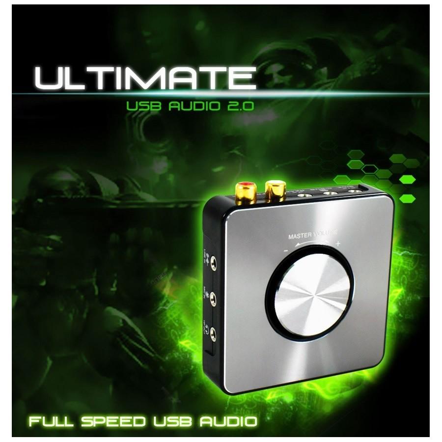 aim ultimate usb audio interface usb dac preamplifier 24bit 192khz audiophonics. Black Bedroom Furniture Sets. Home Design Ideas