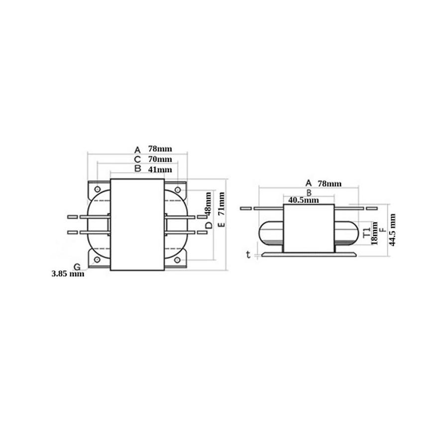 Transformer R Core 30va 24 0 24v Audiophonics Xlr Wiring Diagram