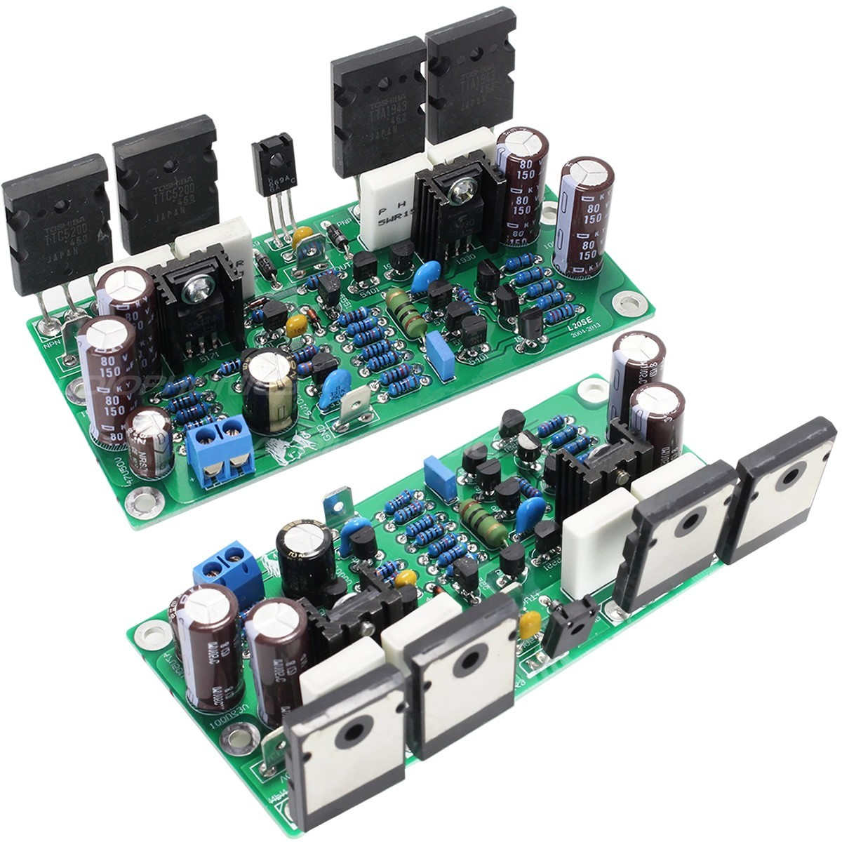 LJ TTA1943 Amplifier boards 100W 8 ohm Mono (Pair)