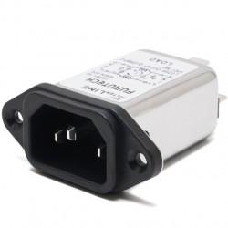 FURUTECH AC-1501(R) IEC Base Rhodium Plated noise filter/ EMI 230V 1A