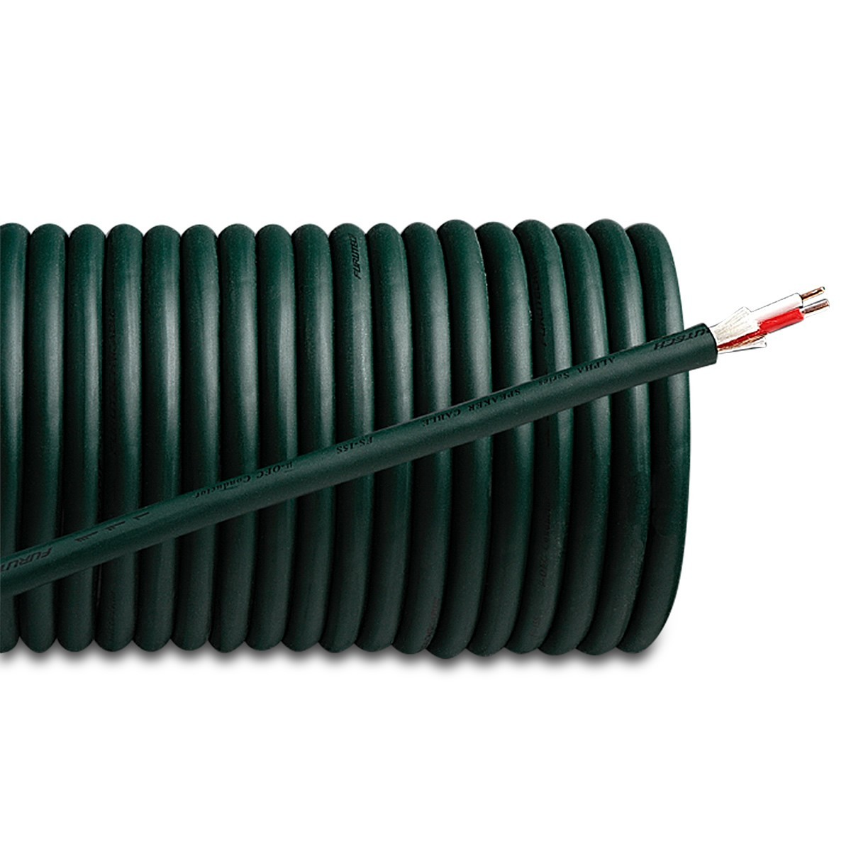 FURUTECH FS-15S Câble HP Cuivre OFC (SolidCore Alpha) 2x1.6mm² Ø 8.2mm