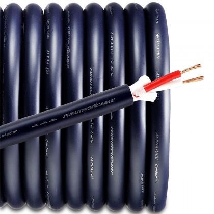 FURUTECH Alpha-S25 Câble HP Alpha 2x1.6mm² Ø 2x2.5mm²