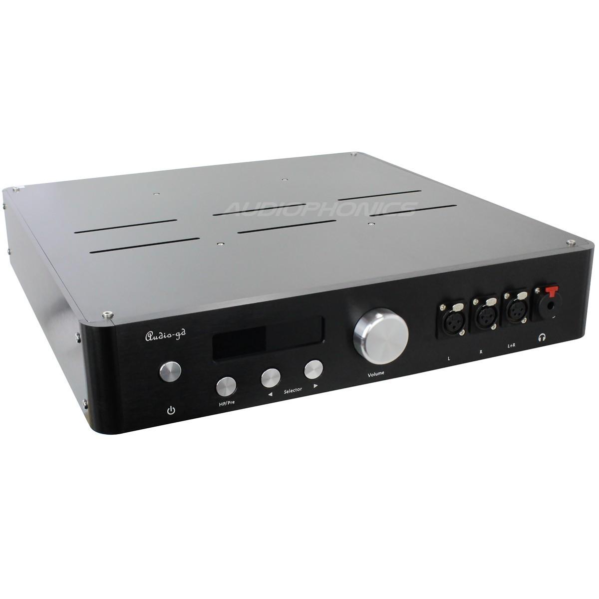 AUDIO-GD MASTER 11 Préampli / Ampli casque / DAC Symétrique 4xPCM1704UK & DSP