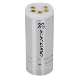 ELECAUDIO DIN-103 Connecteur DIN femelle 5 broches Cuivre Tellurium plaquées Or 24K