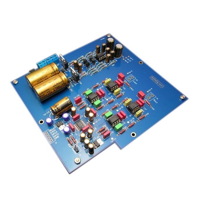 HIFIDIY IIS DAC DIY Kit I2S to Analog Converter