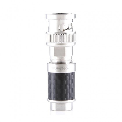 FURUTECH CF-BNC (R) BNC connector Rhodium Phosphor Bronze Ø 8mm