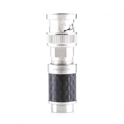 FURUTECH CF-BNC (R) Connecteur BNC plaqué Rhodium Phosphor Ø 8mm