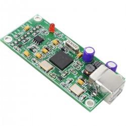 XMOS U8 Interface USB vers I2S / SPDIF 32 bit 384Khz / Pins pré-soudés
