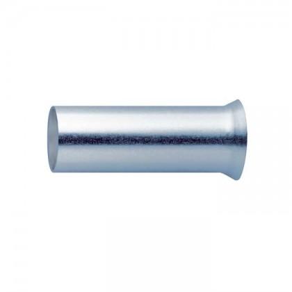 Embouts de câble plaqués Argent 1.5mm² (10mm) x10