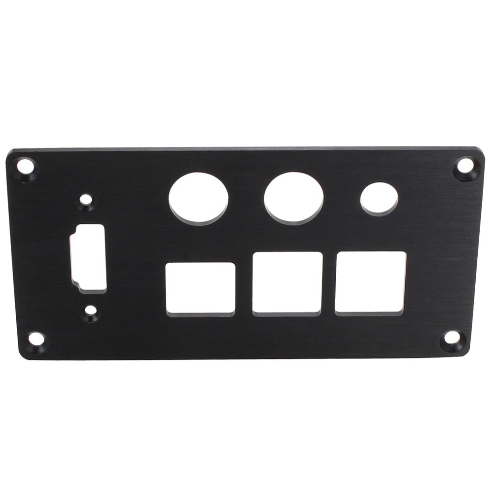 Aluminum Back plate 2mm for Raspberry Pi 2/ Pi 3 case