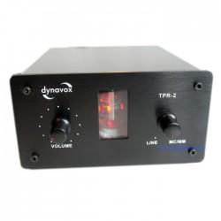 DYNAVOX TPR-2 Préamplificateur à Tube avec entrée Phono MC/MM) noir