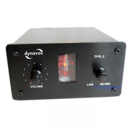 Préamplificateur phono à tube Dynavox TPR-2 Noir (MC/MM)
