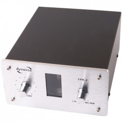Préamplificateur phono à tube Dynavox TPR-2 Silver (MC/MM)
