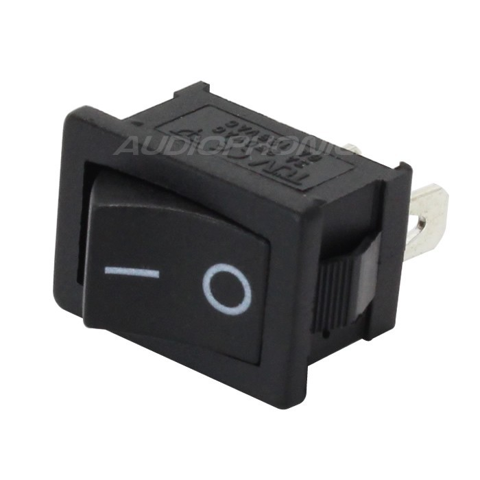 Toggle Switch ON-OFF 250V 3A Black