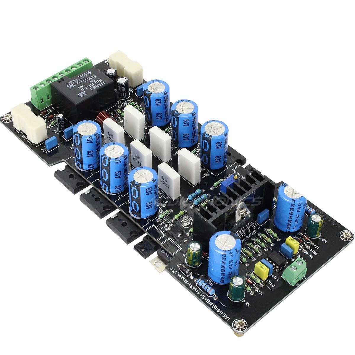 LM49810 2SC5200 Bipolaire Module Amplificateur 300W 8 ohm Mono (unité)