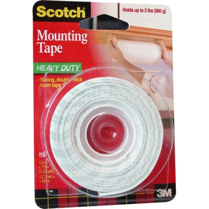 Scotch en mousse adhésive double face 3M