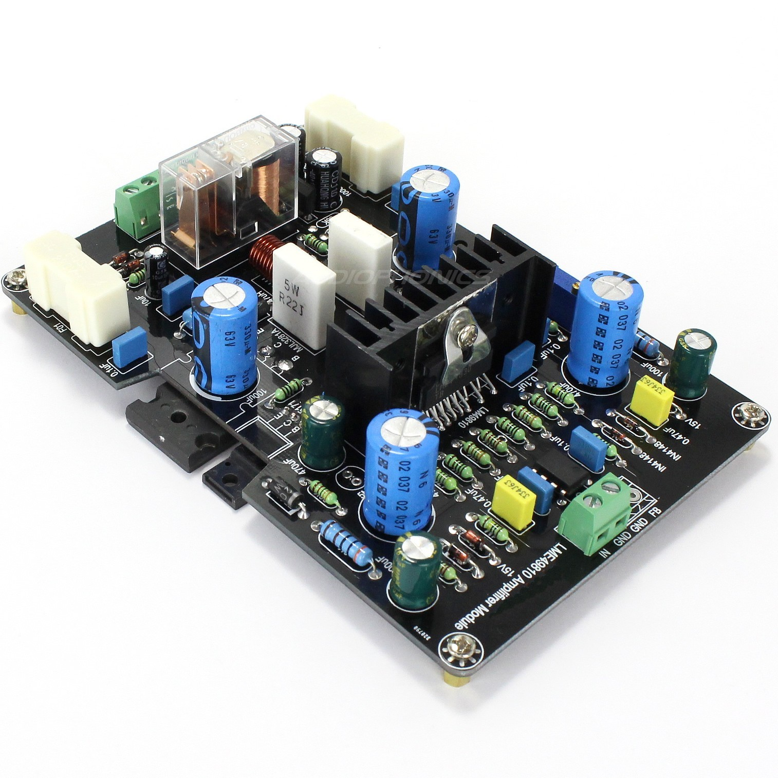 LME49830 2SK1530 FET Amplifier board 100W 8 Ohm Mono (1 unit)