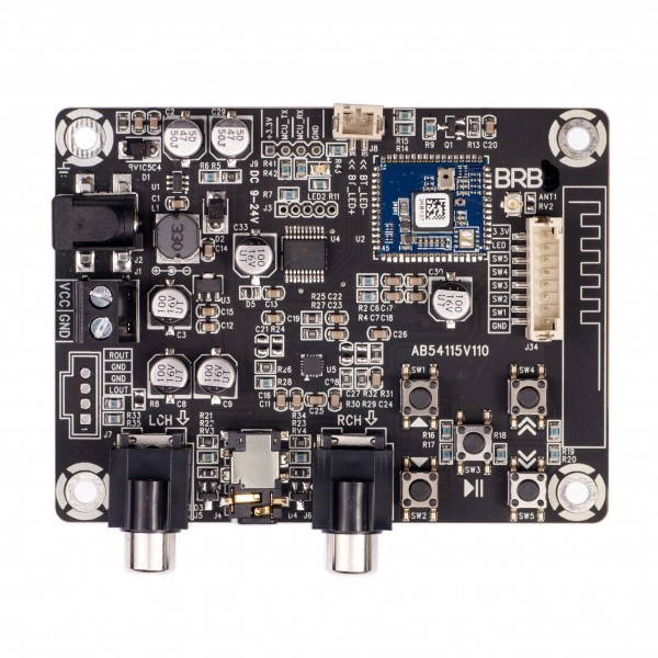 SURE BRB4 Module récepteur Bluetooth 4.0 Apt-X avec boutons de commande