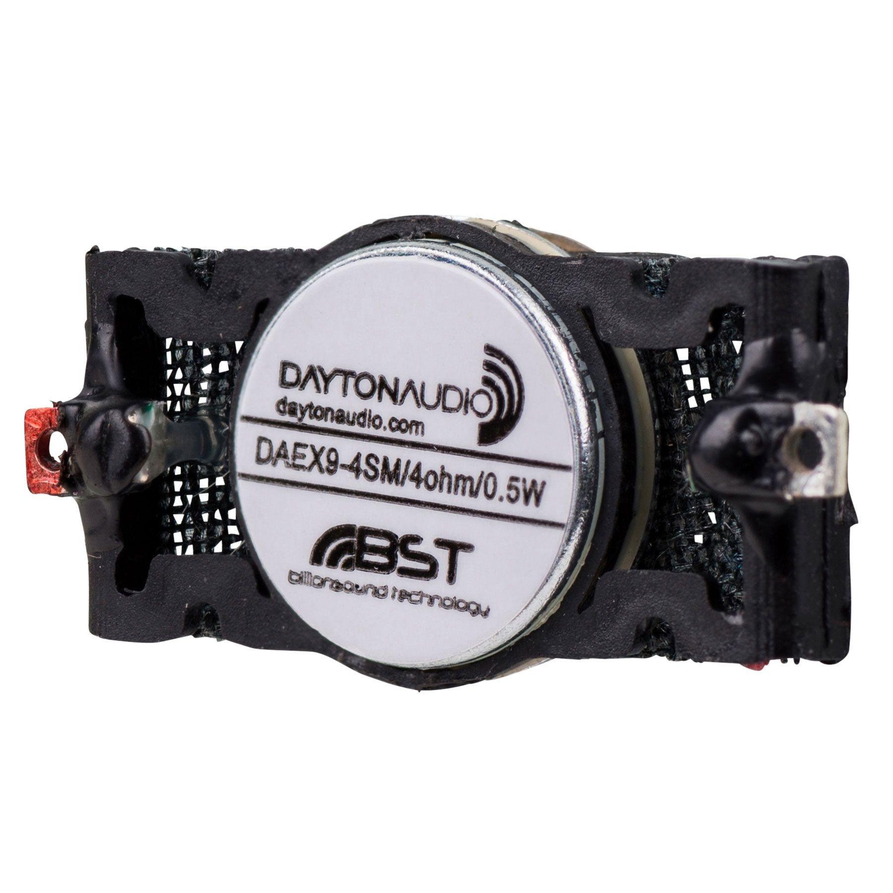 DAYTON AUDIO DAEX-9-4SM Haut-Parleur Mini Vibreur Exciter 1W 4 Ohm Ø9mm