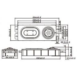 TANG BAND T1-1942S Modules de haut parleurs (la paire)