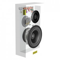 ATOHM FURTIVE 1.1 DIY Kit 2-Way Wall Speaker (Unit)