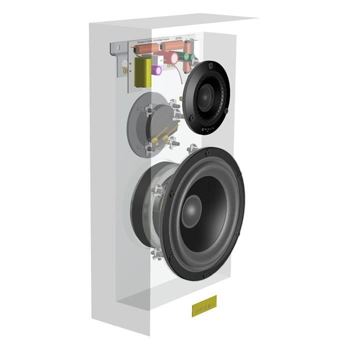 ATOHM FURTIVE 1.1 DIY Kit 2-Way Wall Speaker (Unit)