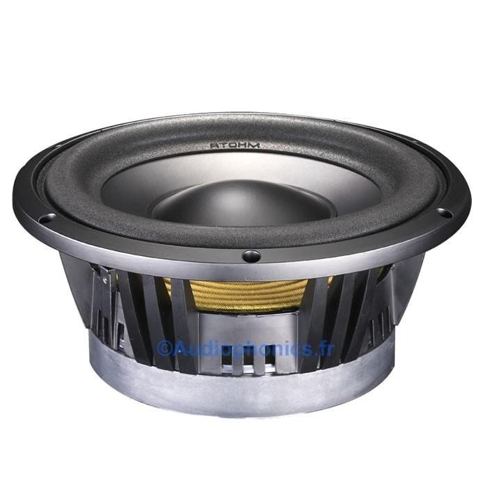ATOHM LD230CR04 Speaker Driver Subwoofer 300W 4 Ohm 88dB Ø 23cm