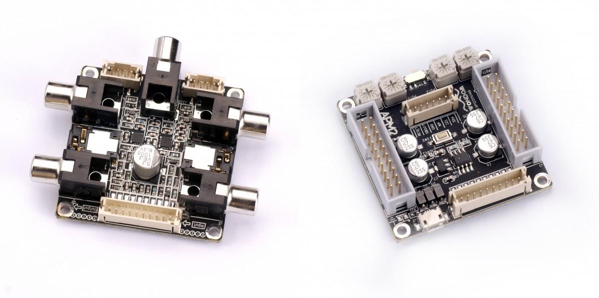 SURE ADAU1701 Module DSP pour filtrage actif compact avec carte fille RCA