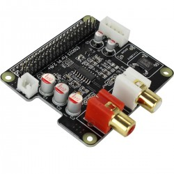 AUDIOPHONICS I-Sabre DAC ES9023 Raspberry Pi A+ B+ 2.0 / I2S