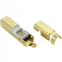 DIY USB type B Plug