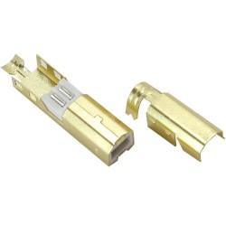 Connecteur USB mâle Type B DIY doré