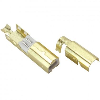 Connecteur USB mâle Type B DIY doré1