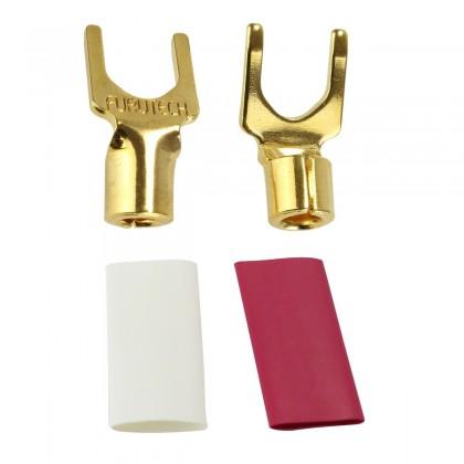 FURUTECH FP-203 (G) Gold plated 24k Spade Ø 4mm (Pair)