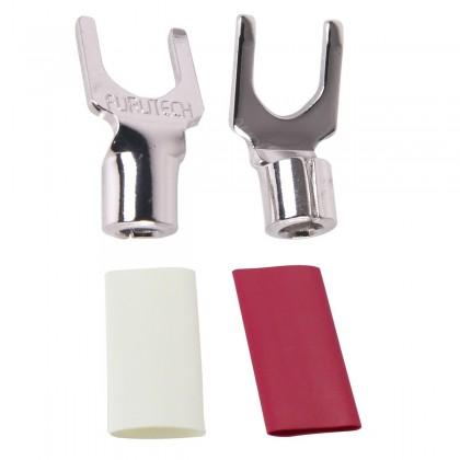 FURUTECH FP-203 (R) Spade Rhodium Plated Ø 6mm (Unité)