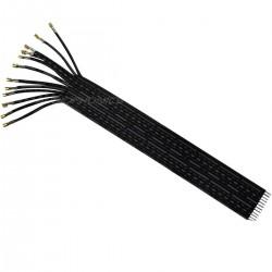 Nappe d'interconnexion pour XH vers fil nu 2,54mm 12 PIN 15cm plaquée Or