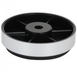 Pied ABS finition Silver 40x10mm (Unité)