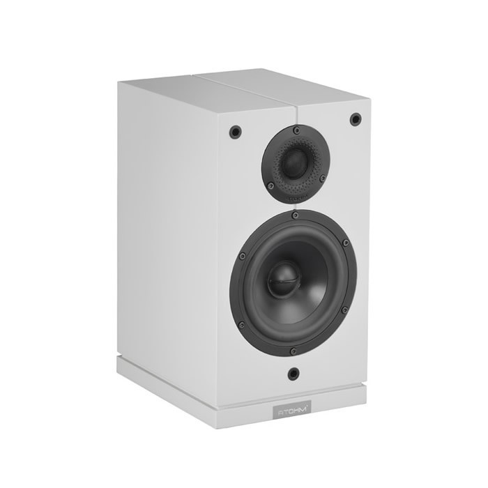 ATOHM SIROCCO 1-0 HiFi bookshelf Speaker 120W / 6 Ohm White (Unit)