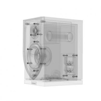 ATOHM SIROCCO 1-0 HiFi bookshelf Speaker 120W / 6 Ohm Black (Unit)