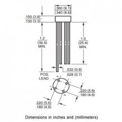 Pont redresseur RB151 250V AC 1.5A 50V