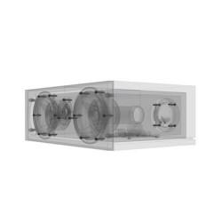 ATOHM SIROCCO C1 Enceinte centrale HiFi 250W / 6 Ohm Noir