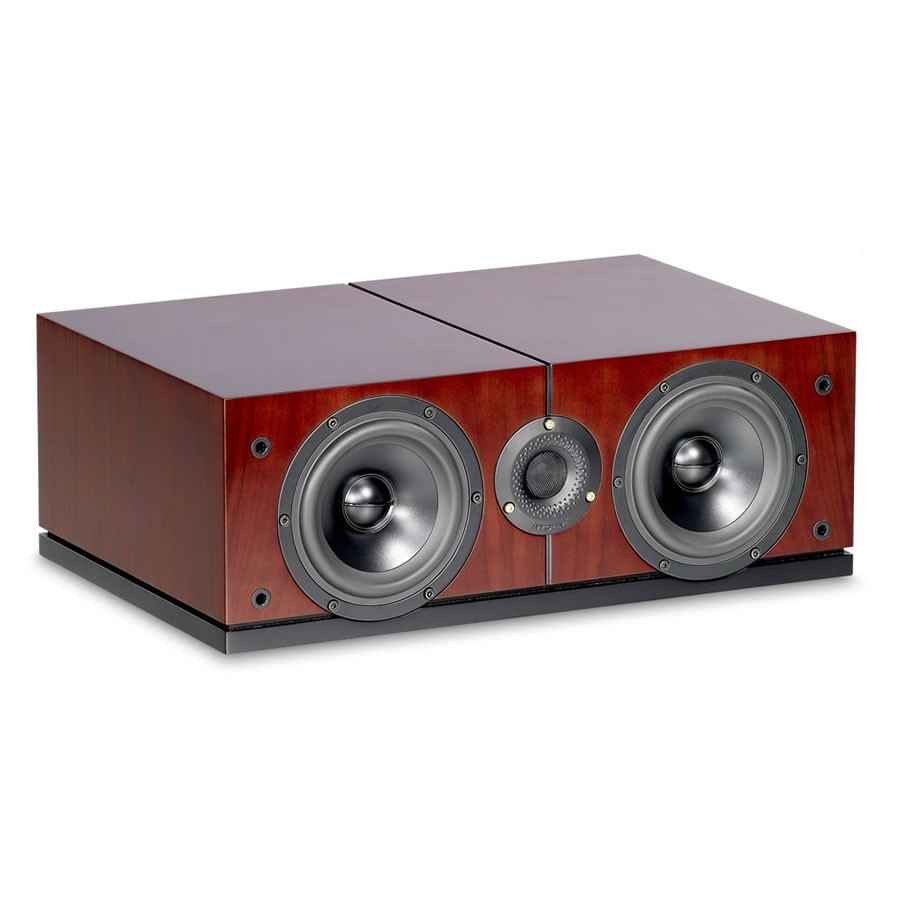 ATOHM SIROCCO C1 HiFi Center channel Speaker 250W / 6 Ohm Rosewood